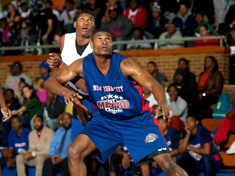 James Allen, a Long Island All-Star forward from