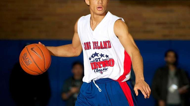Aaron Edmead, a Long Island All-Star guard from