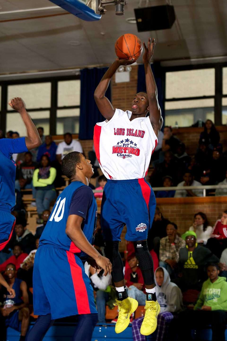 Mike Nzei, a Long Island All-Star forward from
