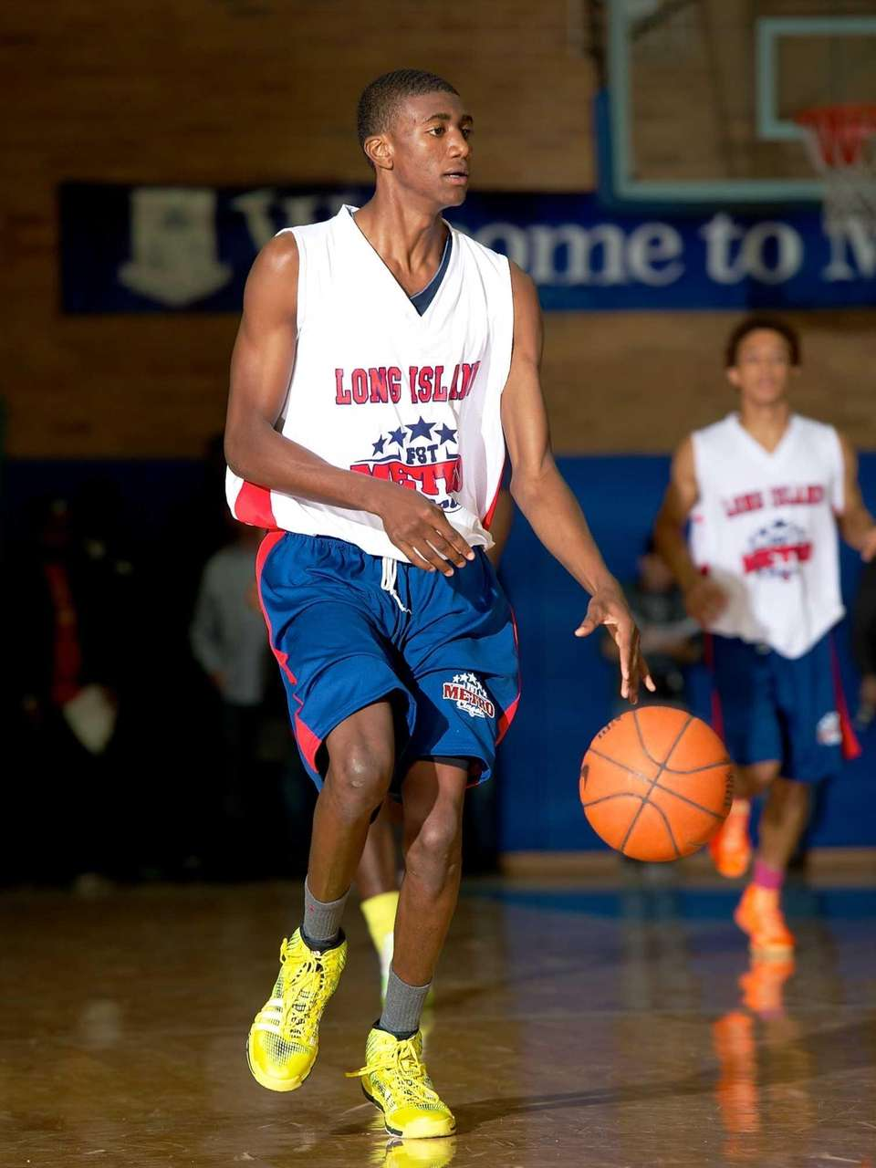 Travis Dickerson, a Long Island All-Star guard from