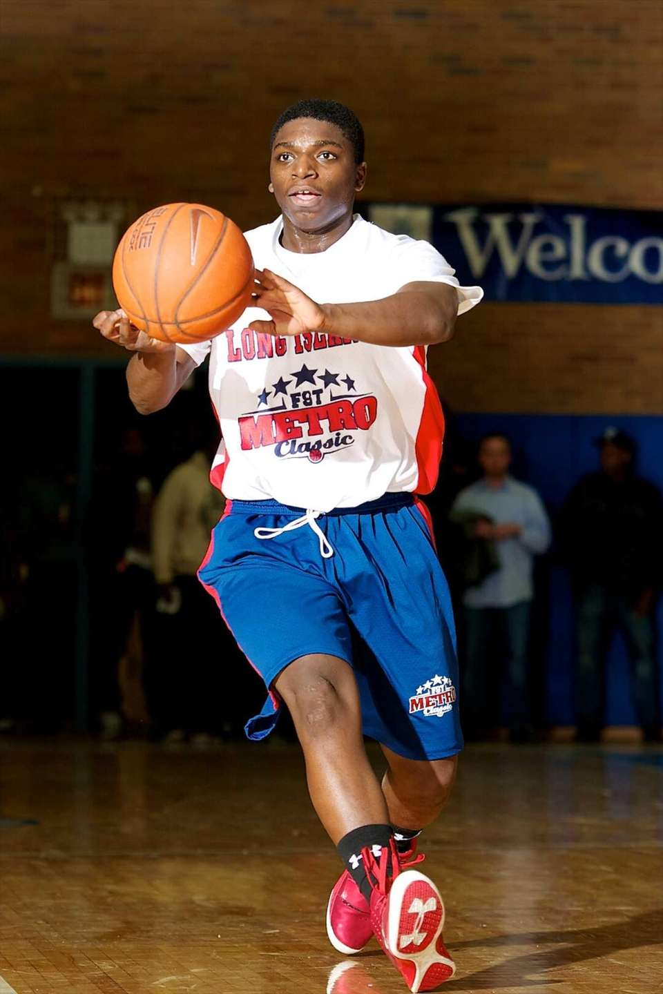 Mike Alston, a Long Island All-Star guard from