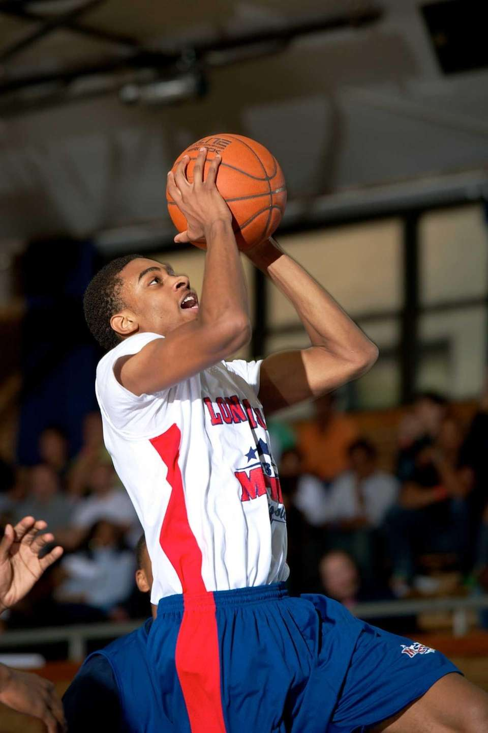 Damon Wilson, a Long Island All-Star guard from