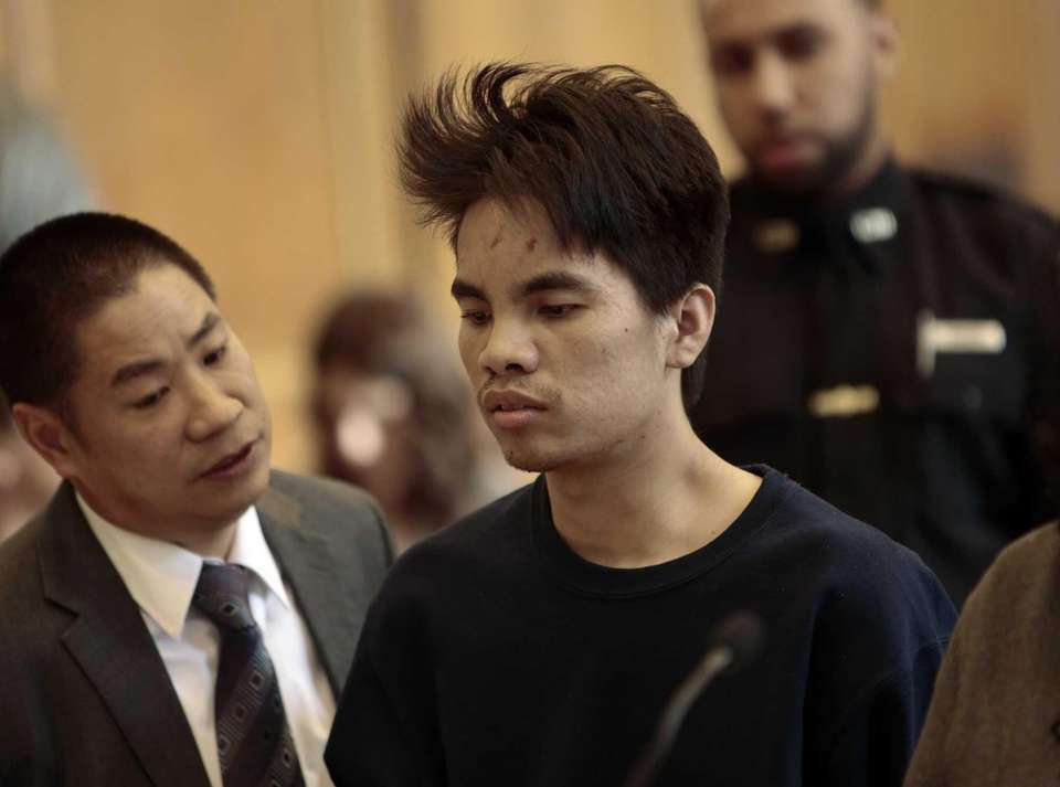 Mingdong Chen is arraigned in Brooklyn criminal court