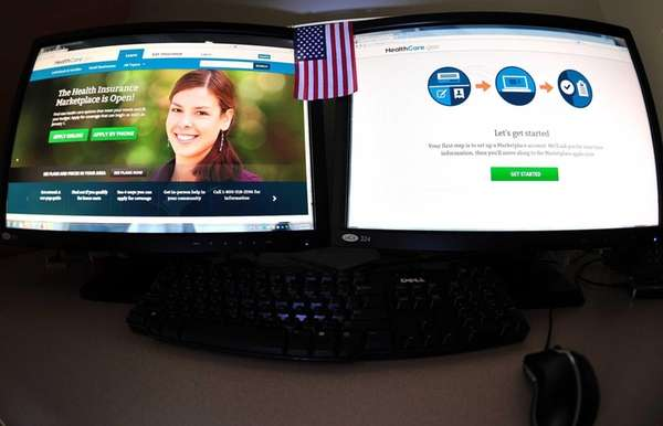The Internet health insurance exchange Healthcare.gov on Oct.