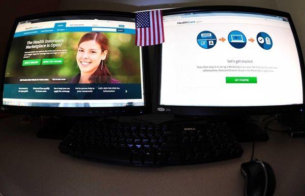 The Internet health insurance exchange Healthcare.gov on Oct.
