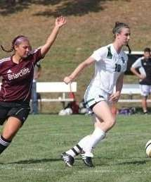 SUNY-Old Westbury senior JoAnna Kettell on the move