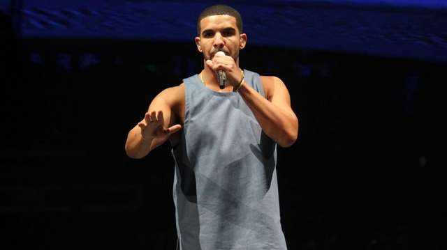 Drake performs at the Barclays Center in Brooklyn.