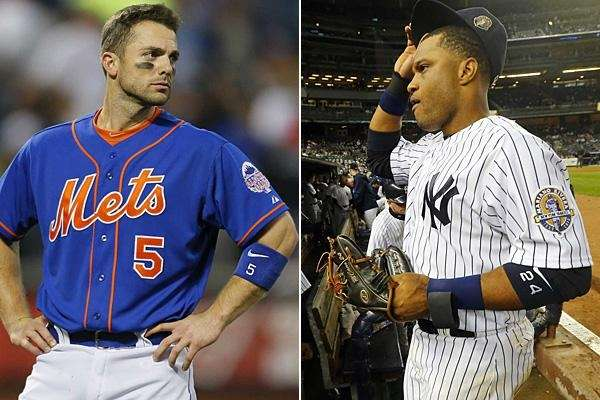 David Wright, left, and Robinson Cano are seen