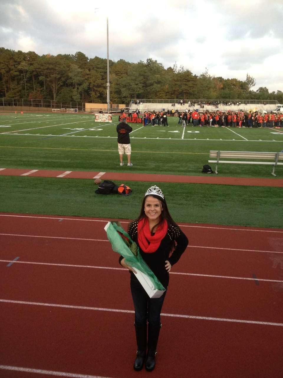 Sachem High School East homecoming queen Olivia Mullins,