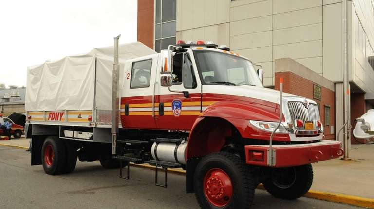 FDNY high water truck