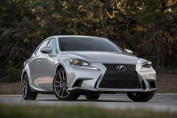 Prices for the Lexus IS 250 start at