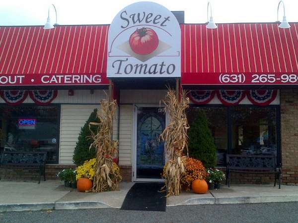Sweet Tomato Brick Oven Pizza ... Grill in