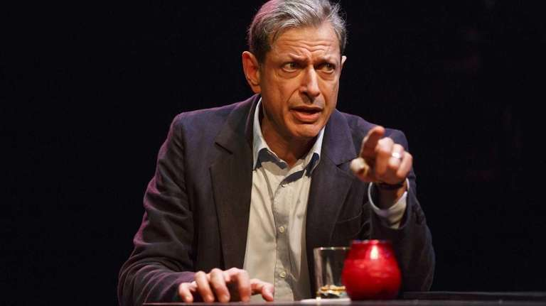 Jeff Goldblum co-stars (with Laurie Metcalf) in the