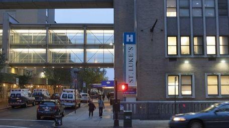 St. Luke's Hospital in Manhattan. (Oct. 31, 2013)