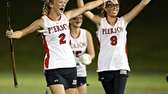 Pierson teammates celebrate their victory over Southampton in