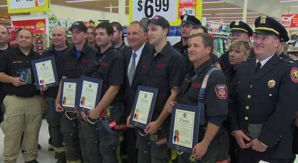 Stop ... Shop in Oceanside honored first responders