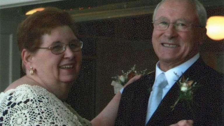 Patricia and Dom Zeolla of Ronkonkoma celebrated their