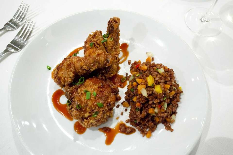 Uncle Jesse's fried chicken is a standout dish