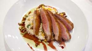 The Cresent Farm's duck breast at The Riverhead