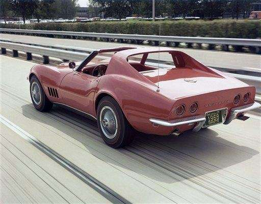 A 1968 Chevrolet Corvette can be extremely valuable