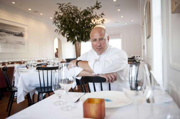 Tom Colicchio, shown at Topping Rose House in