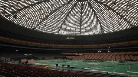 In this May 21, 2012 photo, the Astrodome