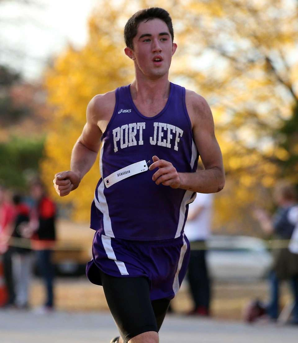 Port Jefferson's James Burke wins the Class C/D