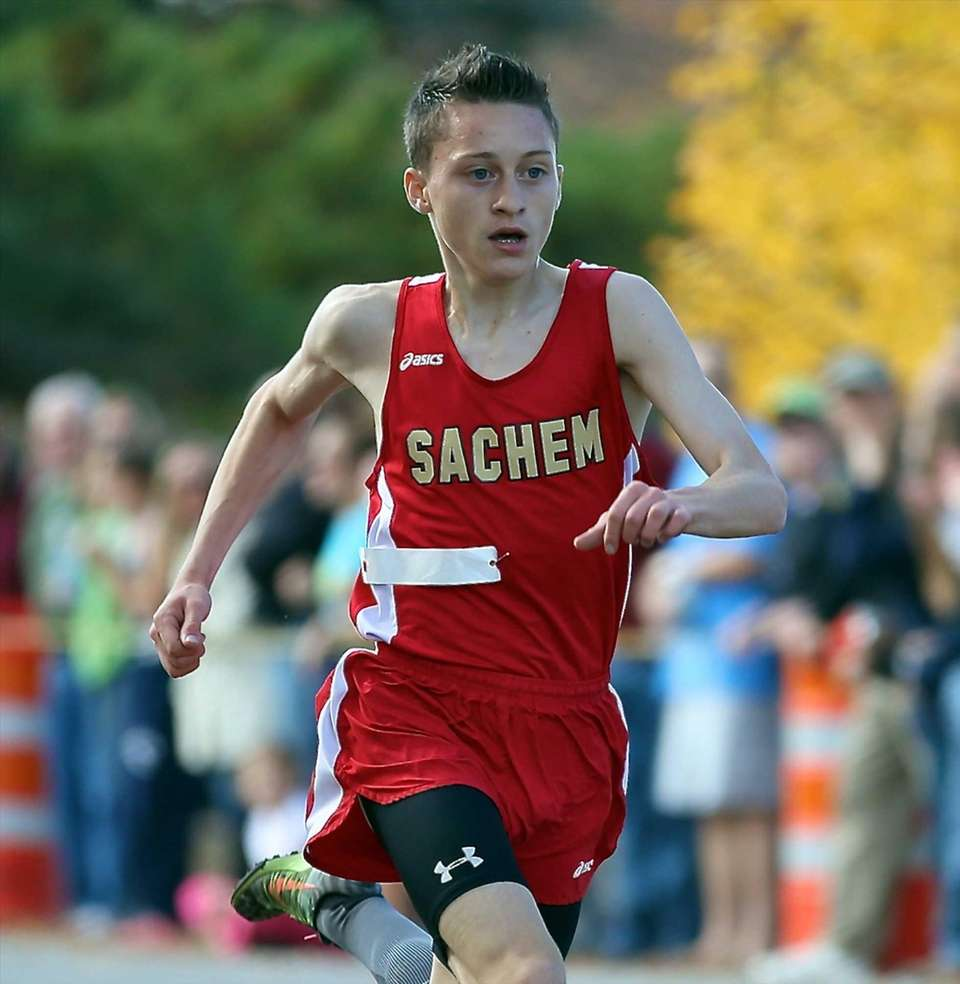 Sachem East's Trevor Guerrera places fourth in the