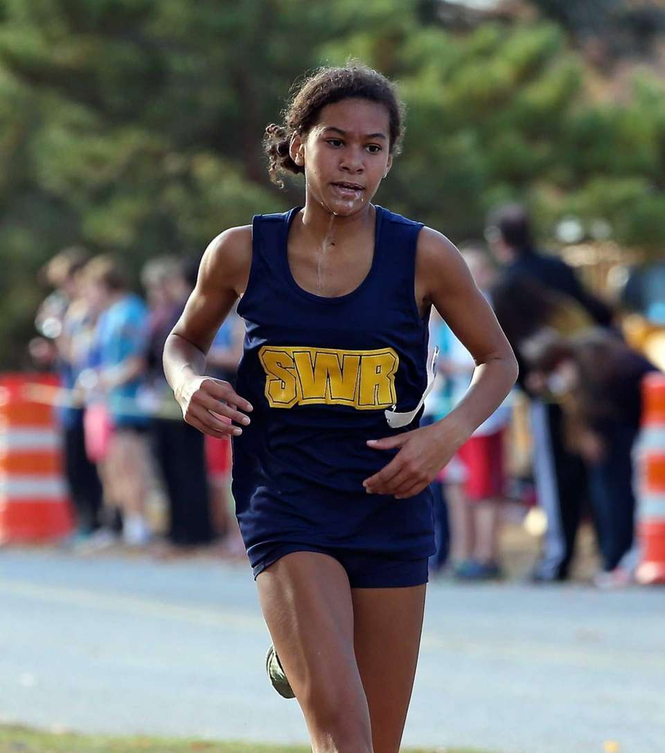 Shoreham/Wading River's Katherine Lee finishes second in the
