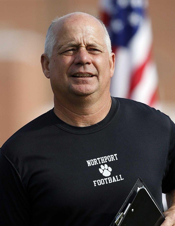 Northport varsity football head coach Kip Lukralle is