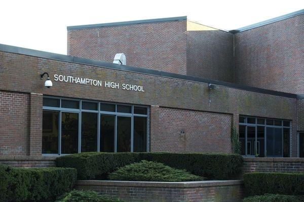 An exterior of Southampton High School on Narrow
