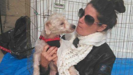 Diane Indelicato, 49, director of Ruff House Rescue,