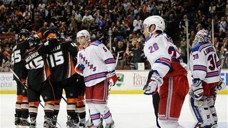 The Anaheim Ducks' Bryan Allen (55); Sami Vatanen