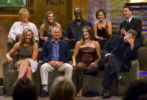 quot;Survivorquot; Season 1 contestants, from left to right