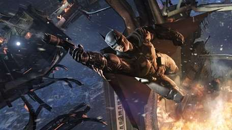 In Batman: Arkham Origins, the Caped Crusader with