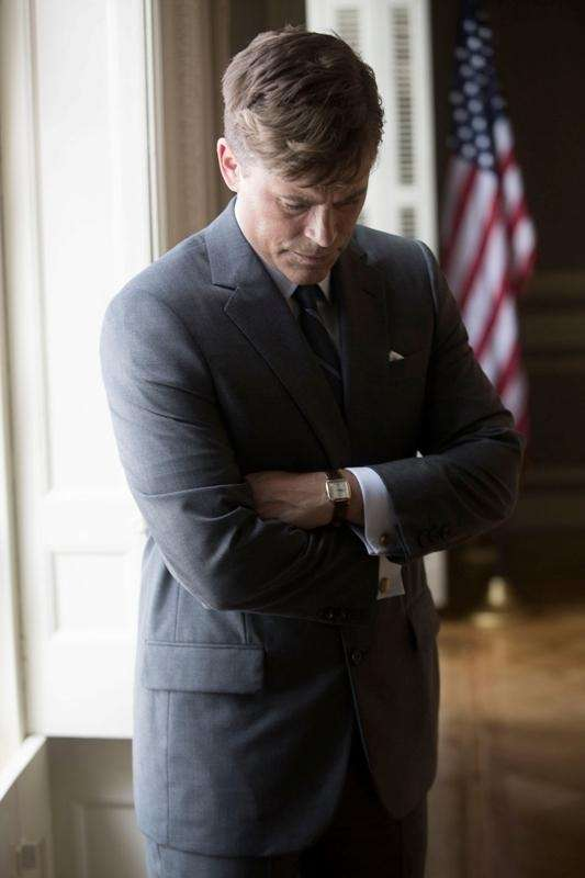 Rob Lowe stars as President John F. Kennedy