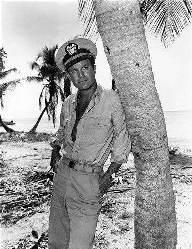 Cliff Robertson plays Lt. John F. Kennedy in
