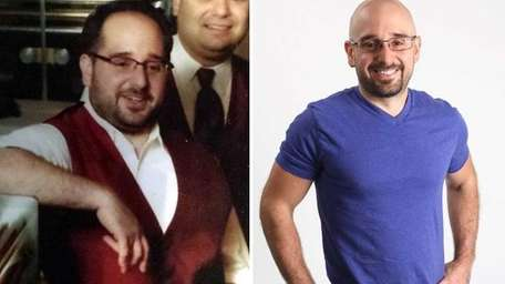 James Laurita of Commack has lost 60 pounds