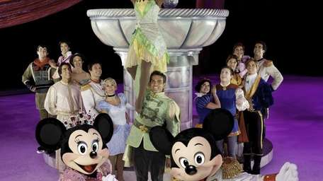 Disney on Ice: Let's Celebrate! runs through Sunday,
