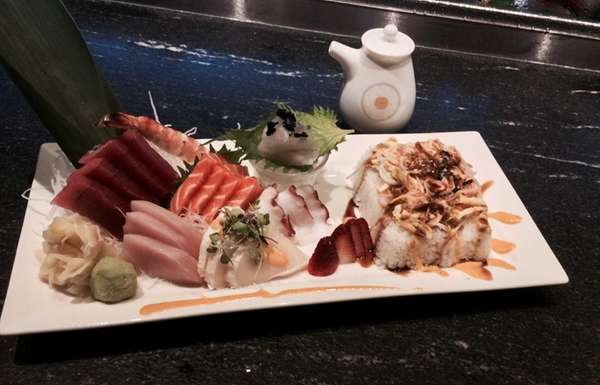 Chirashi at Kumo Sushi Hibachi & Lounge in