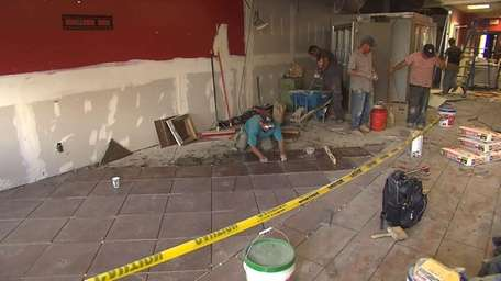 Sandy-damaged businesses across Long Island waged a major