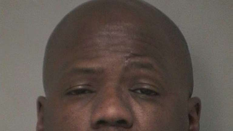 Dennis Petty, 46, of Westbury, was arrested and