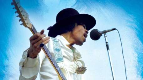 Jimi Hendrix Experience performs at the 1968 Miami