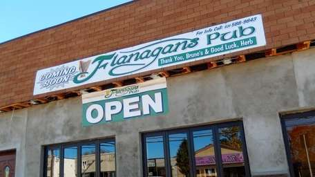 Only open since Nov. 2, Flanagan's Pub in