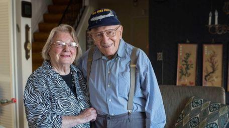 Bernice and Bernie Greene at their home in