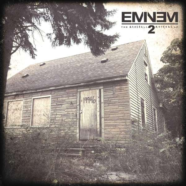 """The Marshall Mathers LP2,"" by Eminem."