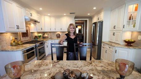 Interior designer and homeowner Angela Enrico of Oceanside
