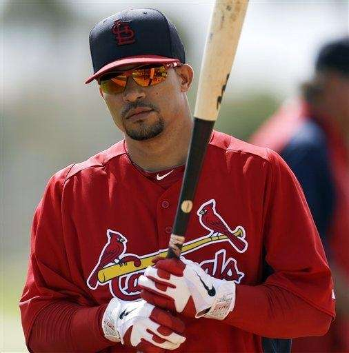 St. Louis Cardinals shortstop Rafael Furcal waits to