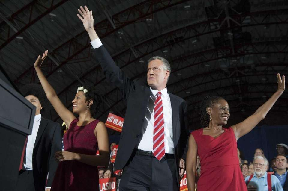 New York City Mayor Elect Bill de Blasio,