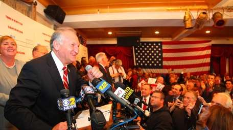 Nassau County Comptroller George Maragos declares victory over
